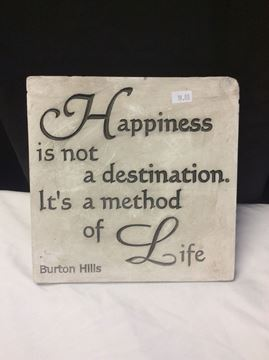 'Happiness' Decorative Sign